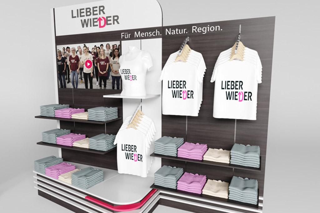 Shop In Shop Visualisierung